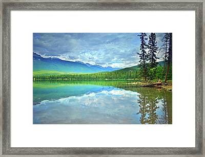 Framed Print featuring the photograph The Crystal Waters Of Lake Annette by Tara Turner