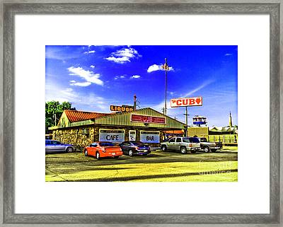 The Cub Framed Print by Scott Pellegrin