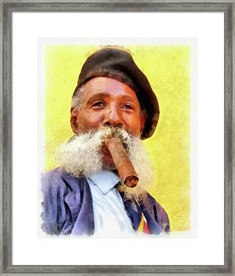 The Cuban Framed Print