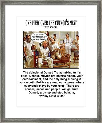 The Cuckkoo's Nest Framed Print