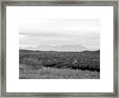 The Cuillin Framed Print by Dan Andersson