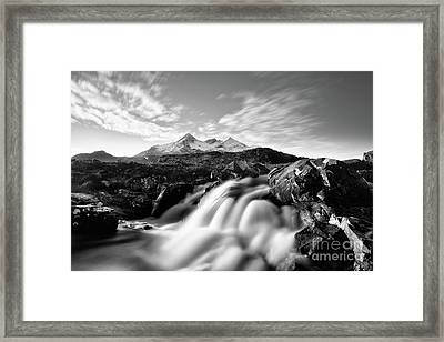 The Cuillin Framed Print by John Farnan