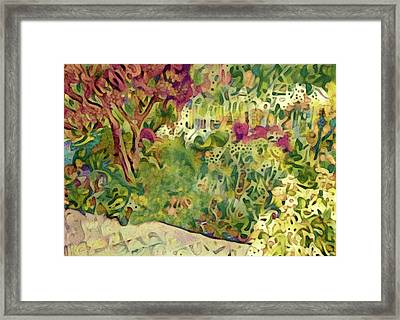The Cultivation Of Happiness Framed Print