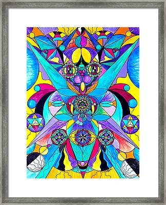 The Cure Framed Print by Teal Eye Print Store
