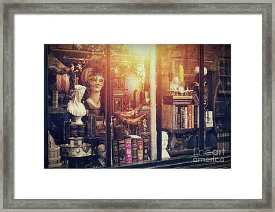 The Curiosity Shop Framed Print by Tim Gainey