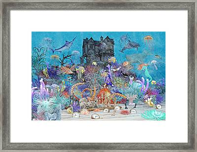The Curious Place Topsail Island Framed Print by Betsy Knapp