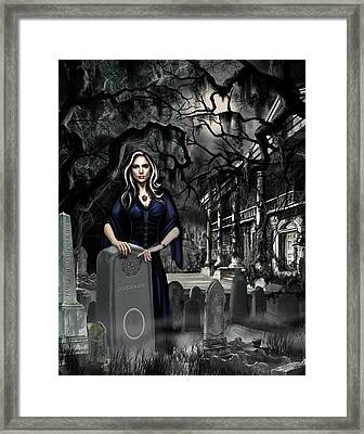 Framed Print featuring the painting The Curse Of Johnson Bayou by James Christopher Hill