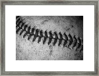 Framed Print featuring the photograph The Curve Ball by David Patterson