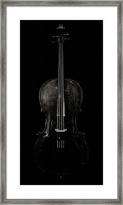 The Curve Of Her - Two Framed Print by Sam Hymas