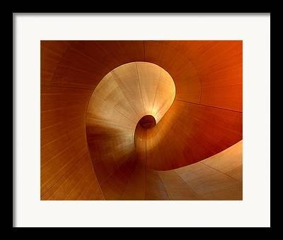 Spiraling Framed Prints