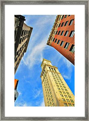 The Custom House Framed Print by Andrew Dinh
