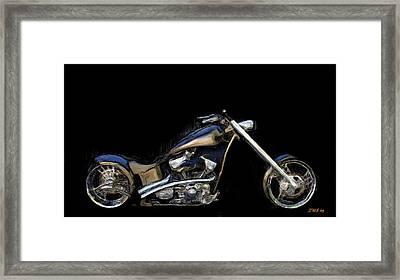 The Custom Rocker Framed Print
