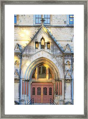 The Customs House Framed Print