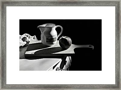 The Cutting Board Framed Print by Diana Angstadt