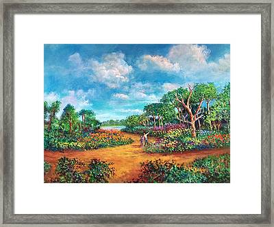 The Cycle Of Life Framed Print by Randy Burns