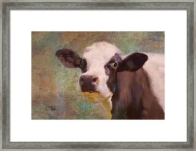 The Dairy Queen Framed Print