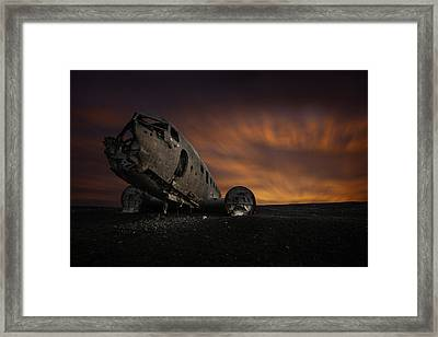 The Dakota Beach Framed Print