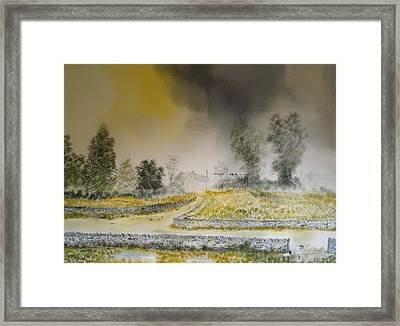 The Dales Framed Print by Andy Davis
