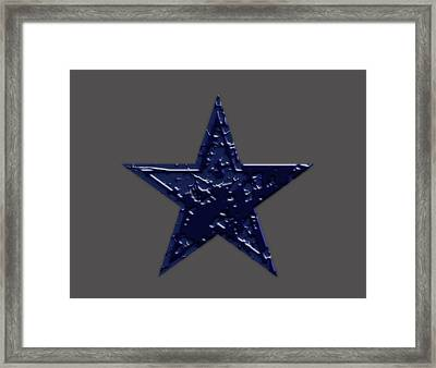 The Dallas Cowbows 7p Framed Print