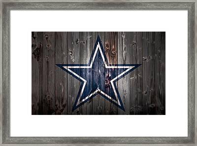 The Dallas Cowboys 2b Framed Print by Brian Reaves