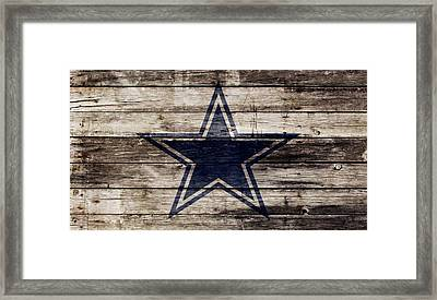The Dallas Cowboys 2w Framed Print by Brian Reaves