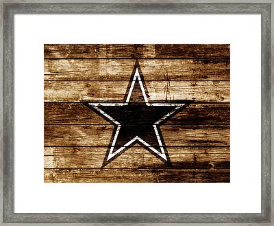 The Dallas Cowboys 4b                              Framed Print