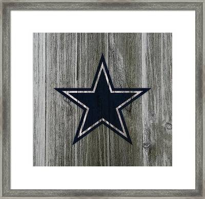 The Dallas Cowboys C1                              Framed Print by Brian Reaves