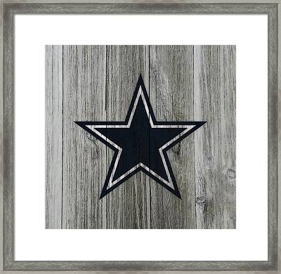 The Dallas Cowboys C2                              Framed Print by Brian Reaves
