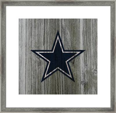 The Dallas Cowboys C3                              Framed Print by Brian Reaves