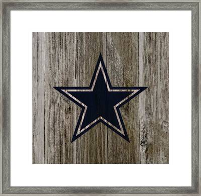 The Dallas Cowboys C4                             Framed Print by Brian Reaves
