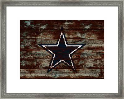 The Dallas Cowboys D1                             Framed Print by Brian Reaves