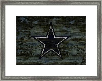 The Dallas Cowboys D2                              Framed Print