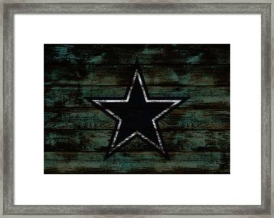 The Dallas Cowboys D3                              Framed Print by Brian Reaves