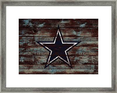 The Dallas Cowboys D4                             Framed Print by Brian Reaves