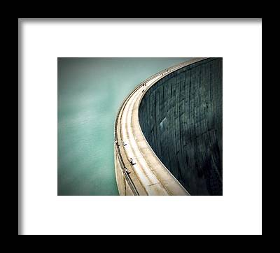 Dam Framed Prints