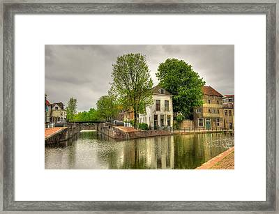 The Dam Framed Print by Hans Kool