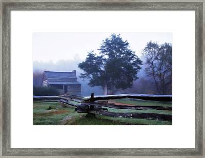 The Dan Lawson Place Framed Print by Lana Trussell