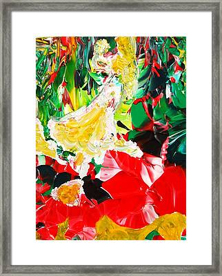 The Dance Framed Print by Carmen Doreal