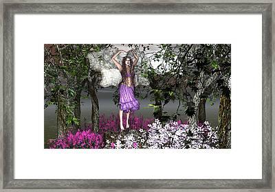 The Dance Framed Print by Eva Thomas