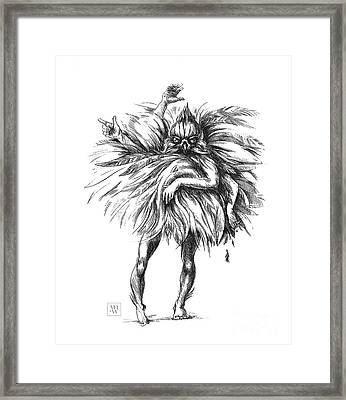 The Dance Macabre Framed Print