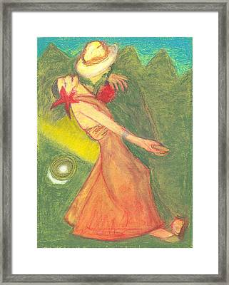 The Dance Framed Print by Moneca AtleyLoring