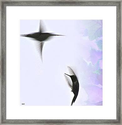 The Dance Of Life Framed Print by Debra     Vatalaro