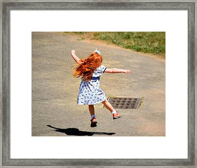 Out Of School Framed Print