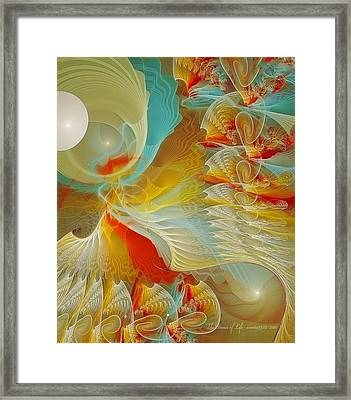 The Dance Of Life Framed Print by Gayle Odsather