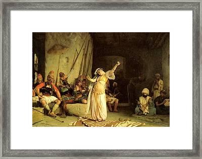 The Dance Of The Almeh Jean-lon Grme Framed Print