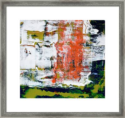 The Dance Framed Print by Pat Saunders-White