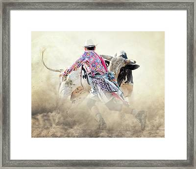 The Dance Framed Print by Ron McGinnis