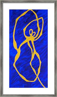The Dance That Never Ends Framed Print by Rika Maja Duevel