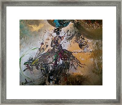 The Dancer Framed Print