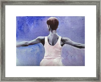 The Dancer Framed Print by Fiona Jack